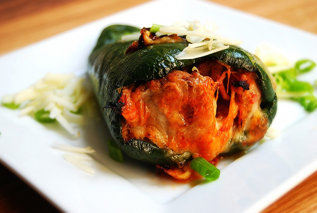 Chile Rellenos: Stuffed Poblano Peppers | The Unmanly Chef